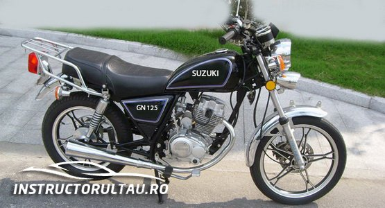 Suzuki GN 125 - Categoria A1